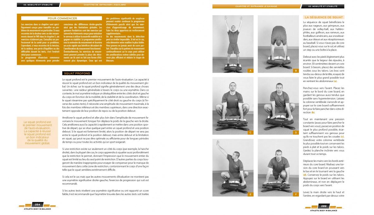 ATHLETIC BODY BALANCE - Les fondements de l'entraînement fonctionnel