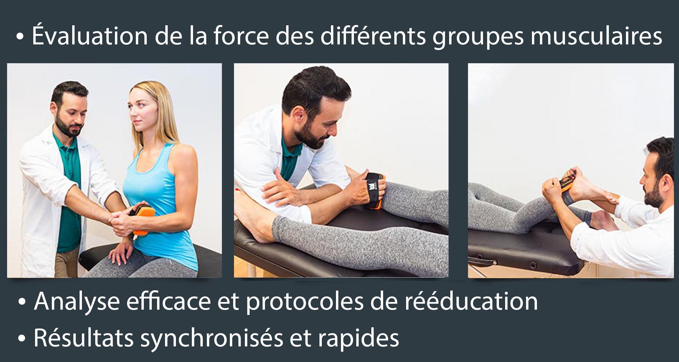 KFORCE MUSCLE CONTROLLER - Dynamomètre Manuel de Musculation