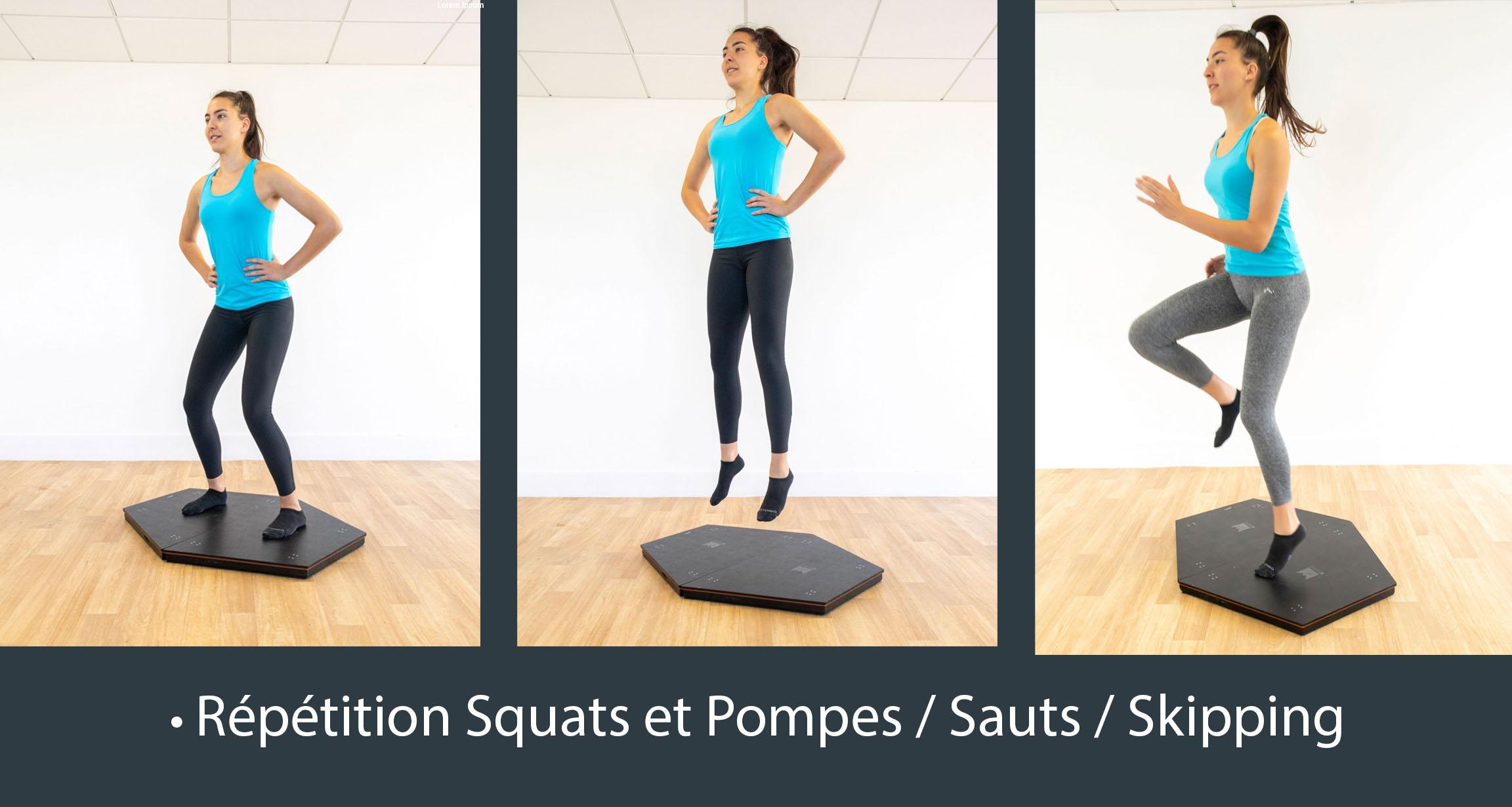 KFORCE DELTAS® - Evaluez vos sauts et votre équilibre