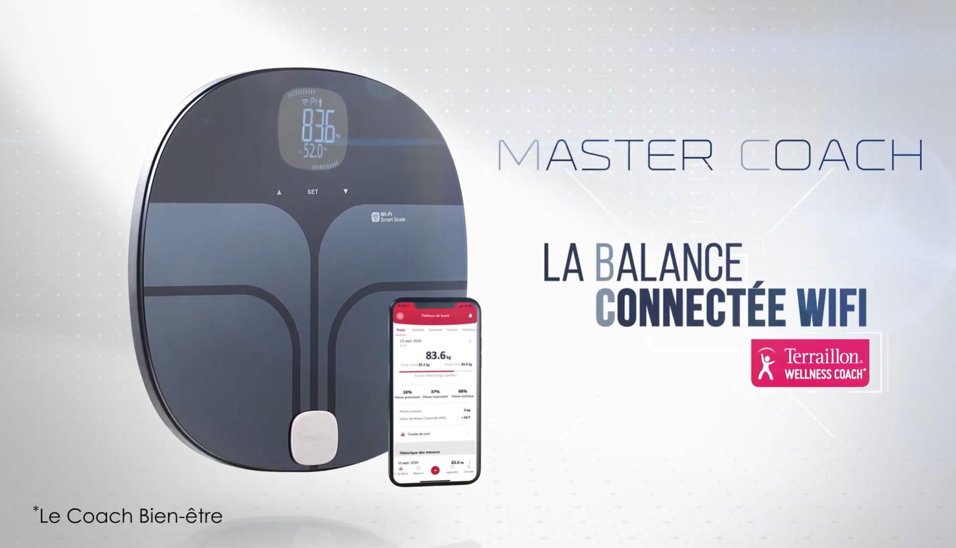 MASTER COACH - La Balance Wi-Fi Connectée