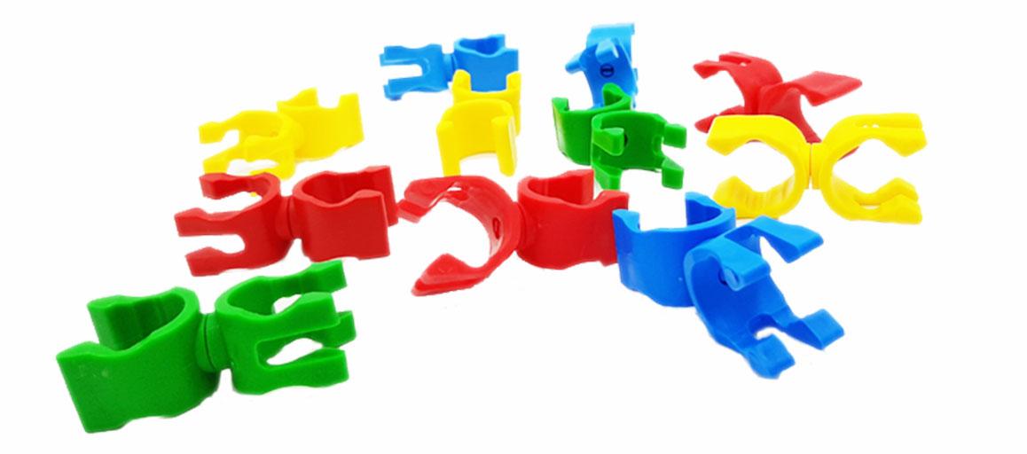 PINCES MULTIFONCTIONS - Lot de 12 de 4 coloris